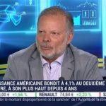 """Philippe Béchade: """"Les Etats-Unis ont 4 à 4,5% de croissance mais au prix de 1.000 milliards $ de déficit supplémentaires !"""""""