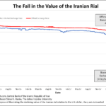 Iran: La dégringolade se poursuit ! 1 dollar s'échange désormais contre 108.500 Rials iraniens sur le marché noir.