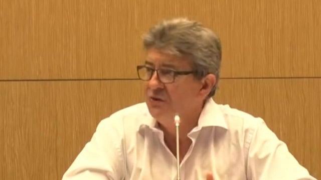 """Jean-Luc Mélenchon: """"Une nouvelle crise financière s"""