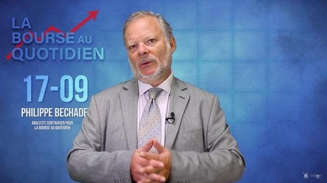 """Philippe Béchade – Séance du Lundi 17 Septembre 2018: """"Comme de la peinture qui sèche sur un mur !"""""""