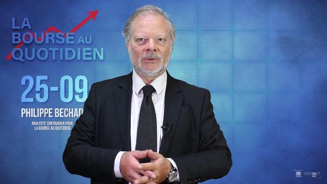 """Philippe Béchade – Séance du Mardi 25 Septembre 2018: """"Un discours plus vigoureux"""""""