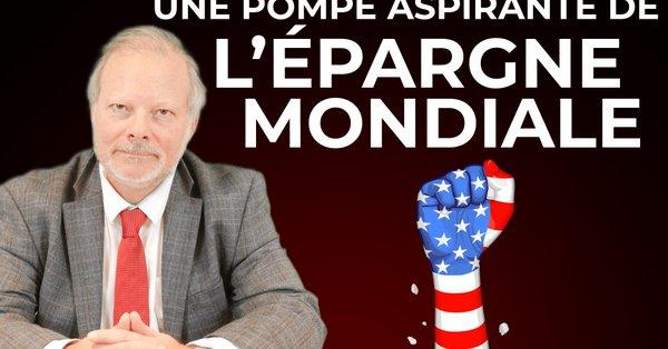 """Philippe Béchade: """"L'Amérique est devenue une pompe aspirante de l'épargne mondiale pour financer ses déficits !"""""""
