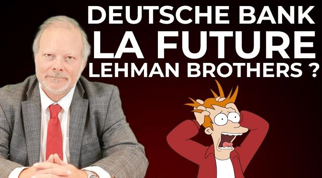 La Deutsche Bank la future Lehman Brothers ?... Avec Philippe Béchade