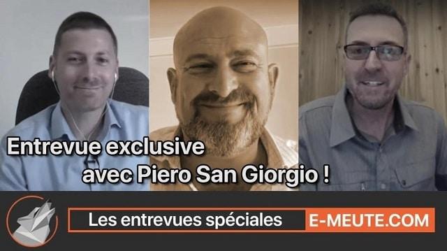 """Emeute.com avec Piero San Giorgio: """"La peur, la situation Italienne, la diversification et le futur technologique..."""""""