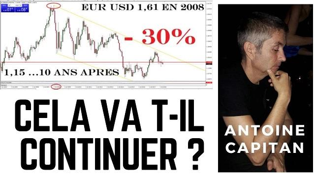 Euro à - 30%: le pire est encore à venir ! L