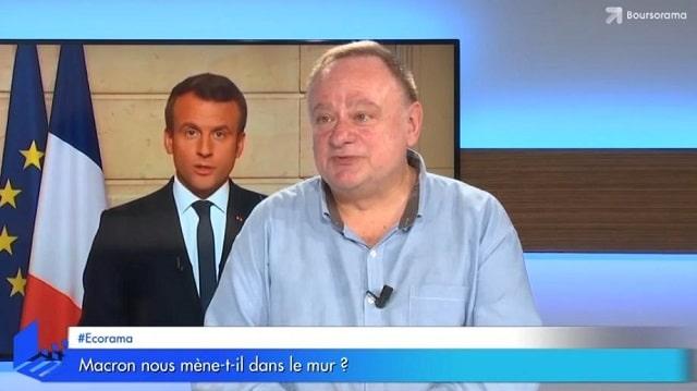 """Jean-Marc Daniel: """"Avec ses erreurs Macron nous mène vraiment droit dans le mur !"""""""