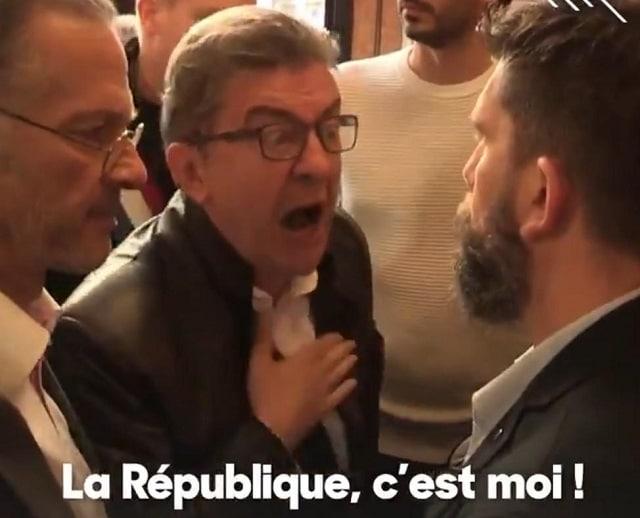 Mardi matin, la perquisition au siège de La France insoumise se transforme ... en scène de catch !!