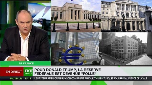"""Olivier Delamarche: """"En cas de Krach, les banques centrales vont créer du papier et ça s"""