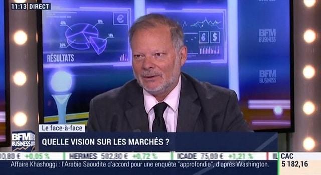 """Philippe Béchade: """"En Chine, on dépasserait la barre des 400% d"""