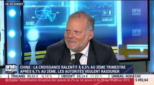 """Philippe Béchade: """"Si on balançait la dette chinoise, ce serait un bain de sang !! On arrive à des niveaux astronomiques !"""""""