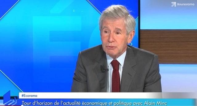 """Alain Minc: """"Il est clair qu"""