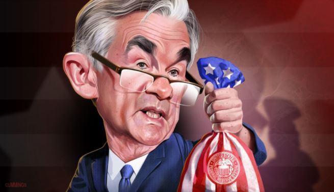 """Jerome POWELL promet que la Réserve Fédérale des États-Unis aidera économiquement """"aussi longtemps que nécessaire""""."""