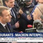 """""""Vous ne sentez pas le malaise en France qui monte ? Vous allez le sentir le gros malaise le 17 novembre…"""" Macron est interpellé à Verdun"""