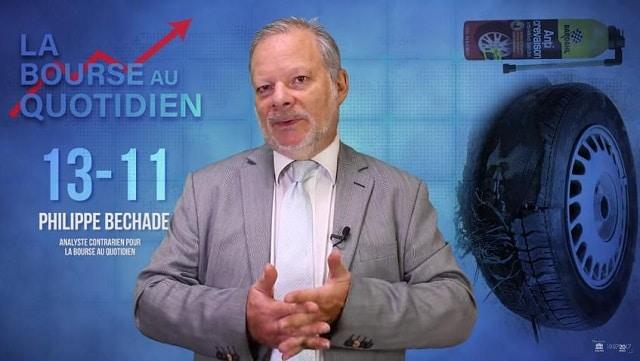 "Philippe Béchade – Séance du Mardi 13 Novembre 2018: ""Va falloir sortir la bombe anti crevaison !"""