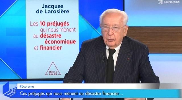"""Jacques de Larosière: """"Si on ne fait rien, nos retraites vont inévitablement baisser !"""""""