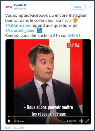 Nicolas Perrin: Le fisc, bientôt votre (meilleur) ami sur les réseaux sociaux !