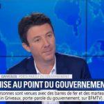 """Benjamin Griveaux: """"Nous ne changerons pas de cap car le cap est le bon,… ça nous en sommes certains !!"""""""