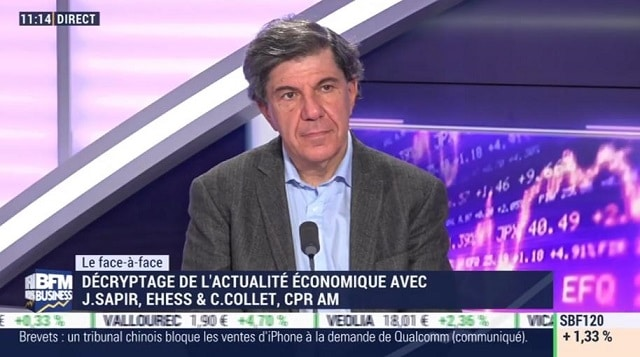 "Jacques Sapir: Gilets Jaunes: ""On a aujourd"