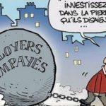 Covid: le nombre de loyers impayés en forte augmentation ! Les associations demandent un moratoire sur les expulsions !! Ca chauffe !!!