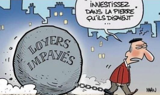 « Bombe !! Loyers impayés, locataires fichés ! … » L'édito de Charles Sannat