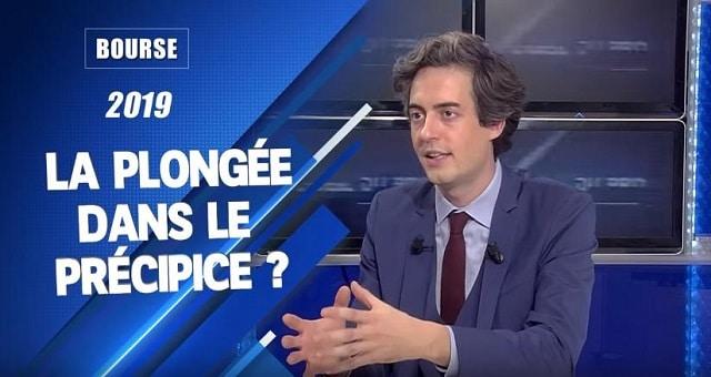 Les marchés boursiers en 2019: La plongée dans le précipice ?... Avec Nicolas Chéron