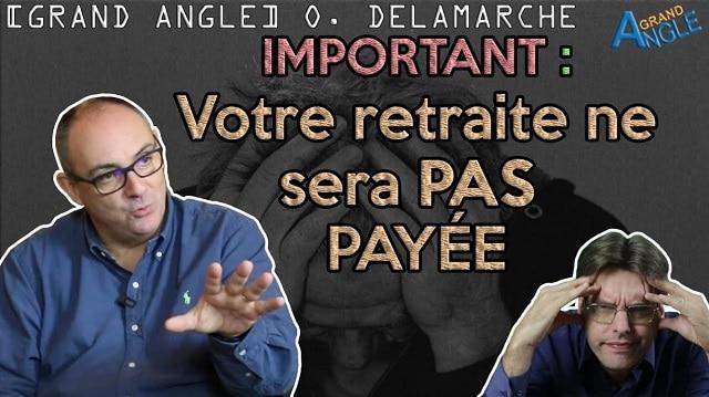 """Olivier Delamarche: """"Sur la retraite faut être très clair, le système tel qu"""