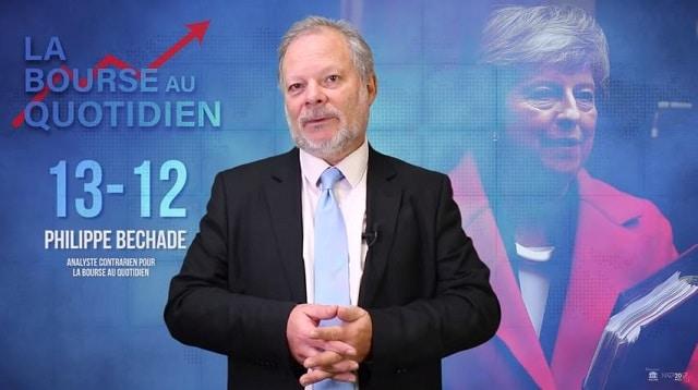 Philippe Béchade – Séance du Jeudi 13 Décembre 2018: La tambouille politique aux royaumes Unis, c'est un « MAY délicat » …