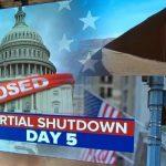 """La crise du """"shutdown"""" touche de plein fouet les États-Unis, avec de nombreuses conséquences sur l'économie du pays."""