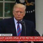 Donald Trump confirme qu'il pourrait maintenir le shutdown pendant « des mois, voire des années »