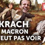 Le KRACH FINANCIER rampant en cours que Macron ne veut pas voir ! Le système s'effondre lentement et ne peut que couler !!