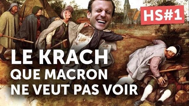 Le KRACH FINANCIER rampant en cours que Macron ne veut pas voir ! Le système s