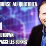 """Philippe Béchade – Séance du Lundi 07 janvier 2019: """"Avec le shutdown, Trump dépasse les bornes"""""""