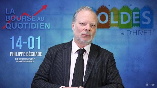 """Philippe Béchade – Séance du Lundi 14 janvier 2019: """"Les soldes profitez-en ! Il y a -30% à -40%... sur la fréquentation"""""""