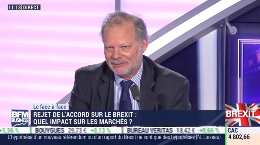 """Philippe Béchade: """"Le Brexit nous a permis d"""
