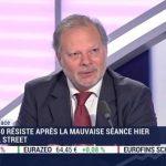 """Philippe Béchade: """"Les marchés ont exagéré pendant 9 ans, dopés à la planche à billets de toutes les banques centrales et les multiples ont connu une expansion phénoménale"""""""