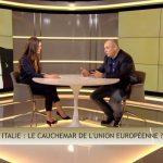 """Olivier Delamarche: Italie: """"Bienvenue dans C'EST CASH ! Eloignez les enfants du poste de Télévision, ça va saigner !!"""""""