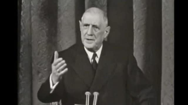 De Gaulle était certain que les Etats-Unis n'avaient plus d'Or
