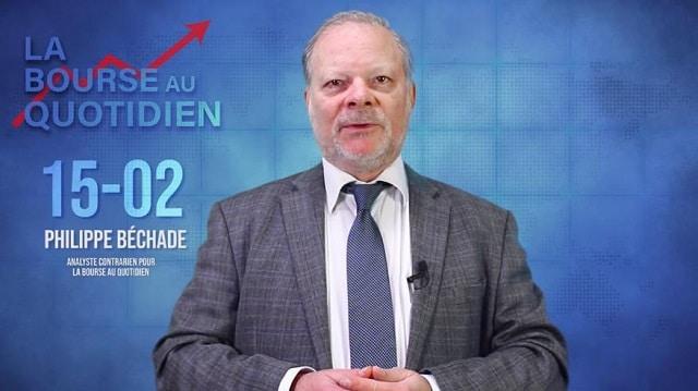 """Philippe Béchade – Séance du Vendredi 15 Février 2019: """"Une croissance divisée par deux, une inflation nulle..."""""""