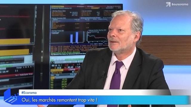 """Philippe Béchade: """"Oui, les marchés remontent trop vite ! On assiste au mouvement haussier le plus rapide et le plus violent du 21 ème siècle!"""""""