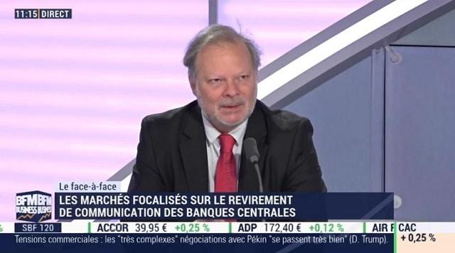 """Philippe Béchade: """"Cet activisme verbal des banques centrales découle d"""