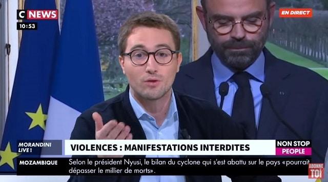 """Antoine Léaument: Gilets Jaunes: """"Je veux parler de ces violences dont on ne parle jamais..."""""""
