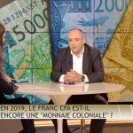 """Olivier Delamarche: """"Aujourd'hui dans C'EST CASH, le sujet qui fâche, c'est le Franc CFA !!"""""""