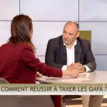"""Olivier Delamarche: """"Aujourd'hui dans C'EST CASH, le sujet qui fâche, la taxation des GAFA ou pas !"""