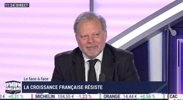 """Philippe Béchade: """"Y a moins de chômage au Portugal et en Espagne. Bah oui, c"""