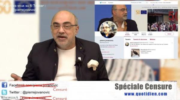 Pierre Jovanovic: Vidéo spéciale censure