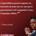 """Thomas Sowell: «L'hyperinflation pourrait emporter vos économies de toute une vie, sans que le gouvernement n'ait à augmenter le taux d'imposition officiel."""""""