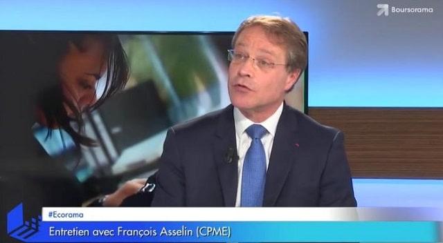 """François Asselin: """"Si on veut pouvoir toucher une pension décente, il faudra reculer l"""