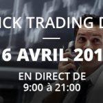 """Le Binck Trading Day – 16 Avril 2019: """"La plus importante conférence de bourse en ligne jamais organisée !"""""""
