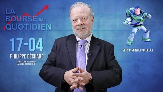 """Philippe Béchade – Séance du Mercredi 17 Avril 2019: """"Le CAC 40 au firmament, tout seul comme un grand !"""""""