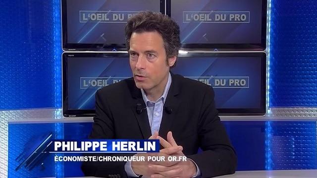 """Philippe Herlin: """"La situation actuelle est suffisamment inquiétante qu"""